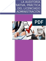 La Auditoría Administrativa