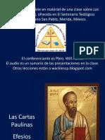 Introducción a La Carta Paulina a los Efesios