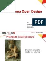 Ecossistema Open Design Apresentacão