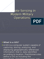 Remote Sensing in Modern Military Operations
