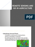 Remote Sensing and Gis in Agriculture