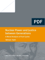 Nuclear Power and Justice Between Generations