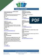 Gwinnett Weekends Oct 16-18
