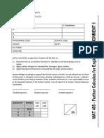 Assignment MAT455 Dec2013