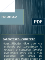 Df. Parentesco