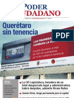 Santiago de Querétaro, Qro. 30 de Noviembre