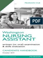 Washington State CNA Skills Booklet