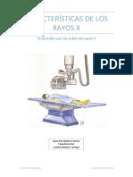 Características de rayos x