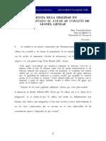 LIENLAF, L. Presencia de La Oralidad.