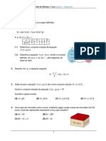 Equações (2)