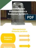 Mesopotamia Sistema Jurìdico