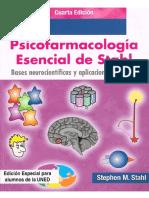 Psicofarmacología Libro 2016 uned