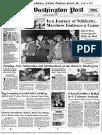 Washington Post, A1 Oct. 16, 1995