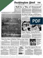 Washington Post A1 Oct. 17, 1995