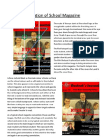 Analysis of School Magazine PDF