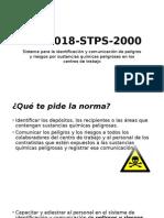 NOM-018-STPS-2000