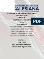 Informe 6 Electronica Automotriz