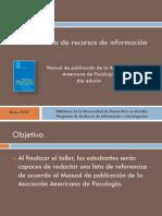 APA 6ta Edición