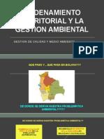 Ordenamiento Territorial y La Gestion Ambiental
