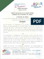 Tabla Salarial 2015 Nicaragua