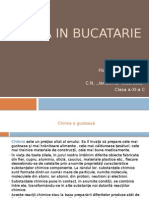 Chimia in Bucatarie