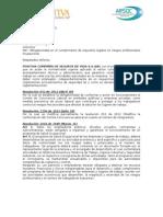 CARTA DE CUMPLIMIENTO DE REQUISITOS LEGALES - COMUNICADO DE COMPROMISO GERENCIAL CONTRATO 078.docx
