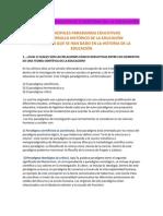 PARADIGMAS EDUCATIVOS E HISTORIA DE LA EDUCACIÓN