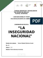 informe sobre inseguridad