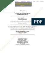 Plaintiffs-Appellants Opening Brief