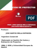 E. 1. Clases Evaluación de Proyectos