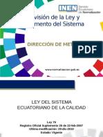 Revision Ley de La Calidad Ecuador