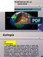 Importancia de La Geologia