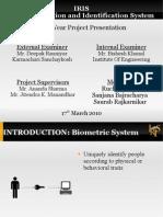 IRIS final presentation