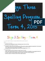 spelling program
