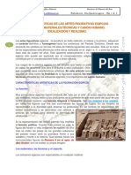 Profundización. Características Plastica Egipcia