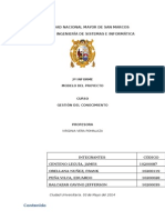 2º Informe - Gestión Del Conocimiento