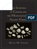 The Invention of Coinage and the Monetization of Ancient Greece