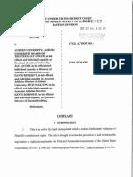 Auburn whistleblower  lawsuit