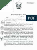 Reglamento Medición de Agua en Sistemas Hidráulicos Comunes (TEXTO)