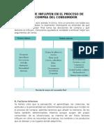 Factores Que Influyen en El Proceso de Decisión de Compra Del Consumidor