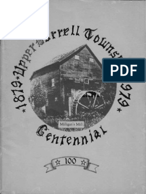 Upper Burrell Township - The First One Hundred Years 1879-1979
