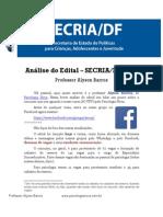 Edital Analisado SECRIA