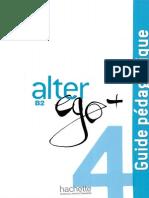 Alter Ego B2 4 Guide Pedagogique 2015年09月18日08時30分25秒