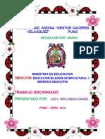 propuesta pedagogica inicial
