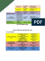Rol de Exámenes 2015 II