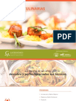 Diplomado Artes Culinarias