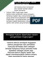 Pengertian Hukum Tata Lingkungan