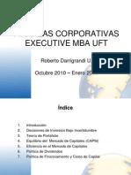 Clases Finanzas Corporativas