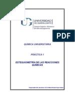 Pract 1 Estequiometria-Reacción