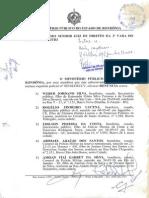 Denuncia Chacina Ursobranco 2001